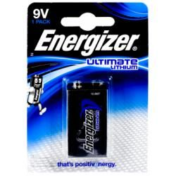 Energizer Ultimate Lithium baterie 6AM-6 9V blistr originál