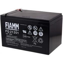 FIAMM náhradní aku baterie pro Peg Perego, záložní zdroje (UPS) 12V 12Ah (nahrazuje 14Ah) originál