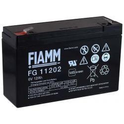 FIAMM náhradní aku baterie pro skútr, invalidní vozík 6V 12Ah (nahrazuje i 10Ah) originál
