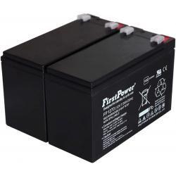 FirstPower náhradní baterie pro UPS APC Smart-UPS SC 1000 - 2U Rackmount/Tower 7Ah 12V originál