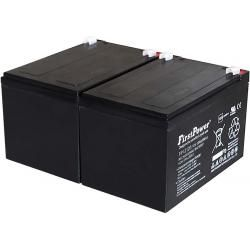 FirstPower náhradní baterie pro YUASA NP12-12 12Ah 12V VdS