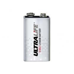 Lithium baterie Ultralife Typ 6LR61 9V-Block originál