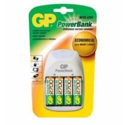 nabíječka baterií GP Nite Lite + 4xGP 2700 mAh