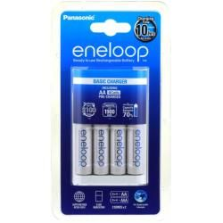 nabíječka Sanyo eneloop MQN04-E-4-3UTGB vč. 4x aku Sanyo eneloop AA 1900mAh originál