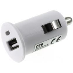 nabíječka z 12-24V na 1x USB 1000mA bílá