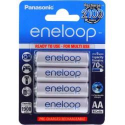 Panasonic eneloop AA tužková 1900mAh NiMH 4ks balení originál