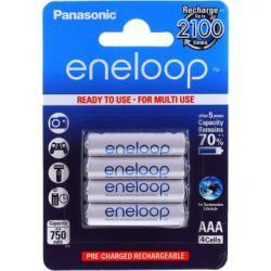 Panasonic Eneloop AAA 750mAh NiMh 4ks balení originál