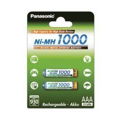 Panasonic HHR-55AAAB AAA 1000mAh 2ks balení originál