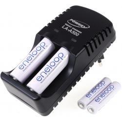 Powery nabíječka pro NiMH/NiCd AA-AAA aku vč. 2x AA 1900mAh + 2x AAA 750mAh Panasonic eneloop