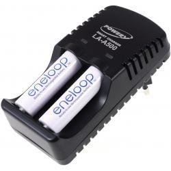Powery nabíječka pro NiMH/NiCd AA-AAA aku vč. 2x AA 1900mAh Panasonic eneloop