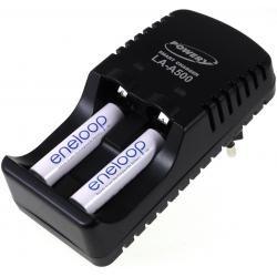 Powery nabíječka pro NiMH/NiCd AA-AAA aku vč. 2x AAA 750mAh Panasonic eneloop