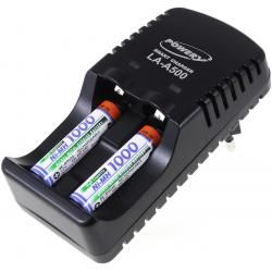 Powery nabíječka pro NiMH/NiCd AA-AAA aku vč. 2x AAA 930mAh Panasonic aku