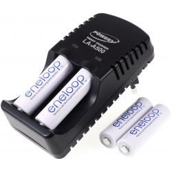 Powery nabíječka pro NiMH/NiCd AA-AAA aku vč. 4x AA 1900mAh Panasonic eneloop