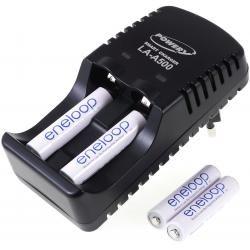 Powery nabíječka pro NiMH/NiCd AA-AAA aku vč. 4x AAA 750mAh Panasonic eneloop