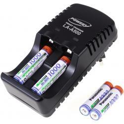 Powery nabíječka pro NiMH/NiCd AA-AAA aku vč. 4x AAA 930mAh Panasonic