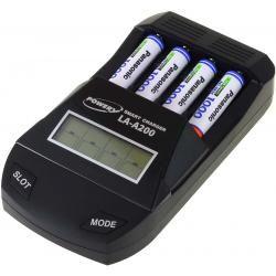 Powery nabíječka pro NiMH / NiMH- AA/AAA aku vč. 4x AAA 930mAh Panasonic