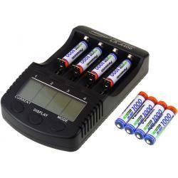 Powery nabíječka pro NiMH/NiMH- Li-Ion aku vč. 8xAAA 930mAh Panasonic