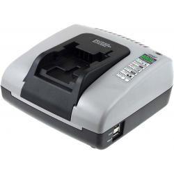 Powery nabíječka s USB pro Black & Decker akušroubovák HP186F4LBK