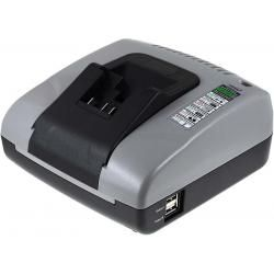 Powery nabíječka s USB pro Dewalt ruční okružní pila DCS 391 M2