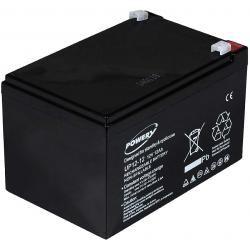 Powery náhradní aku baterie pro Peg Perego nouzové napájení (UPS) 12V 12Ah (nahrazuje 14Ah)