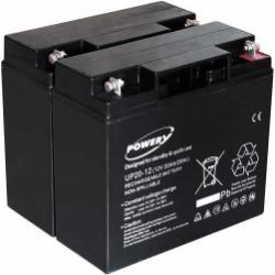 Powery náhradní baterie pro UPS APC Smart-UPS 1500 20Ah (nahrazuje také 18Ah)