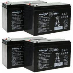 Powery náhradní baterie pro UPS APC Smart-UPS SC 1500 - 2U Rackmount/Tower