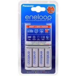 rychlonabíječka Panasonic eneloop BQ-CC16 vč. 4x aku Panasonic eneloop AA 1900mAh originál