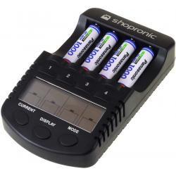 shopronic nabíječka pro NiMH/NiCd AA-AAA aku vč.4x AAA 930mAh Panasonic aku