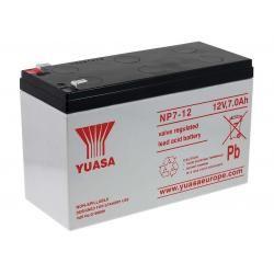 YUASA náhradní baterie pro solární systémy, nouzové osvětlení, zabezpečovací systémy 12V 7Ah originál