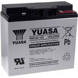 YUASA náhradní baterie pro UPS 12V 22Ah (nahrazuje také 17Ah 18Ah 19Ah) hluboký cyklus originál