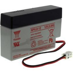 YUASA olověná baterie NP0.8-12 originál