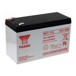 YUASA olověná baterie NP7-12L Vds kompatibilní s CSB GP1270 F2 originál