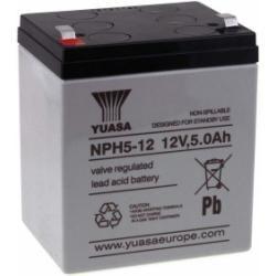 YUASA olověná baterie NPH5-12 (zvýšený výkon) originál
