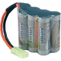 Akupack NiMH Conrad Energy AA, 8,4 V, 1800 mAh, Hump, Mini-Tamiya