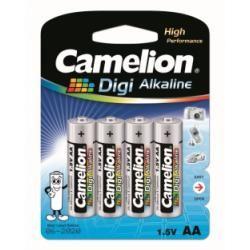 baterie Camelion Digi alkalická MN1500 AM3 pro Digitalkameras/4ks balení originál