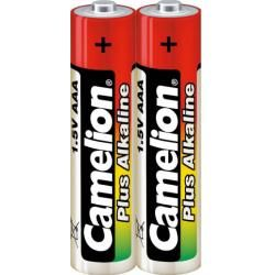 baterie Camelion Plus alkalická LR03 Micro 2ks Shrink Folie originál