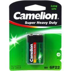 baterie Camelion Super Heavy Duty 6F22 9-V-Block (10 x 1ks balení) originál