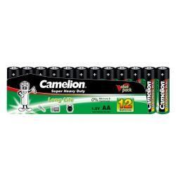 baterie Camelion Super Heavy Duty R6 / tužková / AA (12ks Shrink) originál