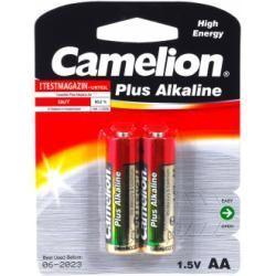 baterie Camelion tužková LR6 MN1500 AA AM3 Plus alkalická 2ks balení originál