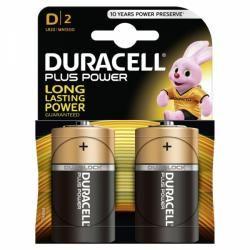 baterie Duracell Plus Typ D 2ks balení originál