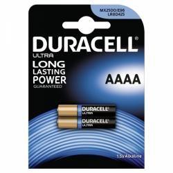 baterie Duracell Ultra MN2500 LR61 Piccolo AAAA 2ks balení originál