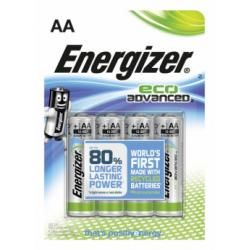 baterie Energizer Eco Advanced tužková AA LR6 4ks balení originál