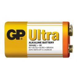 baterie GP 9V Ultra alkalická