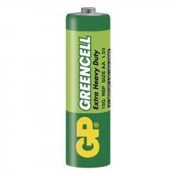 Baterie GP AA tužková GreenCell 15G R6