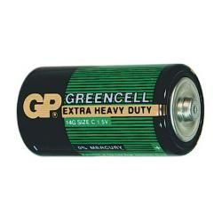 baterie GP GreenCell 14G R14 1ks