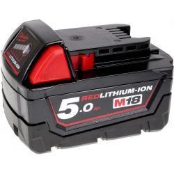 baterie pro nožová pilka Milwaukee HD18 BS-0 5,0Ah originál