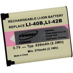 baterie pro Pentax Optio L40