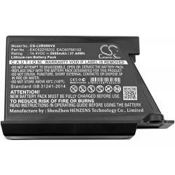 baterie pro robotický vysavač LG VR34406LV / VR6170LVM / Typ EAC62218202