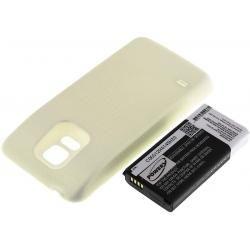 baterie pro Samsung Galaxy S5 Dx 3800mAh bílá