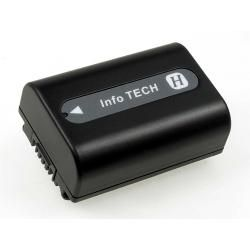 baterie pro Sony DCR-DVD205E 750mAh